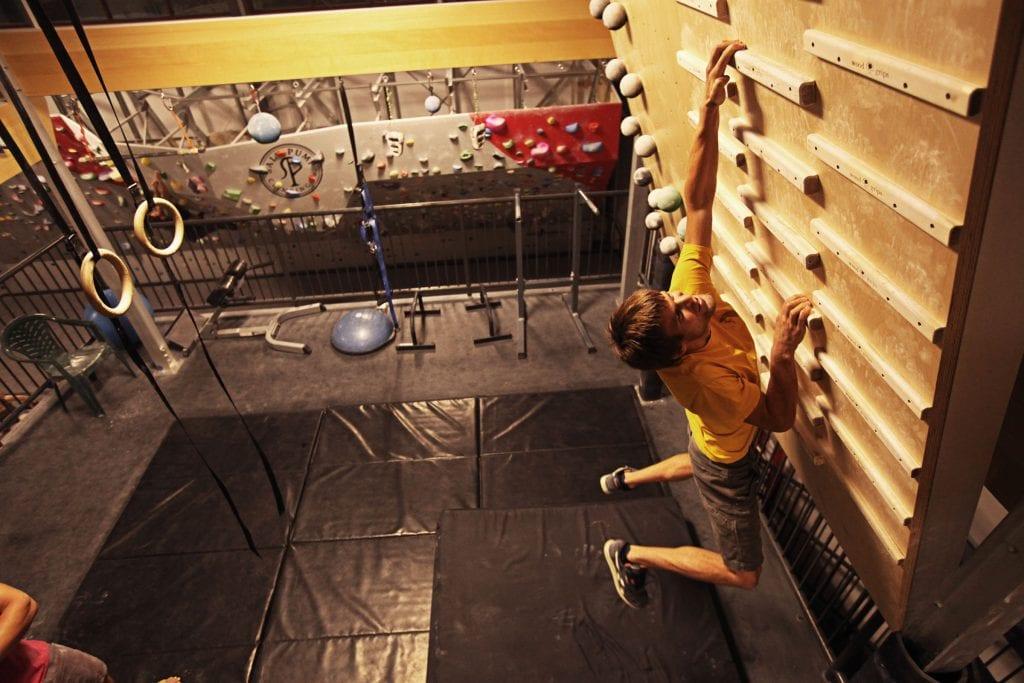 climbing training