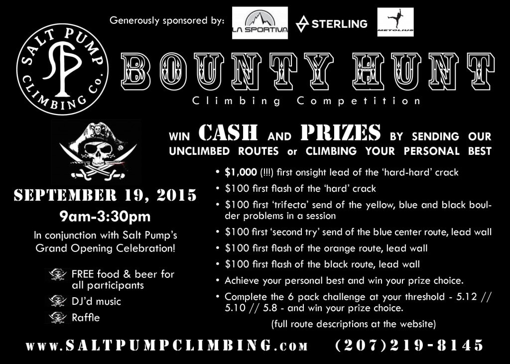 Salt Pump Bounty Hunt