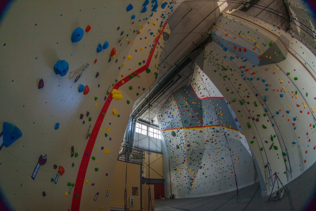 Our routes are regularly reset to keep the climbing fresh.