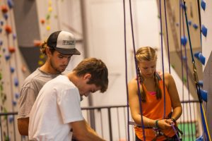Learn to rock climb in the Portland Maine area at Salt Pump Climbing Co.
