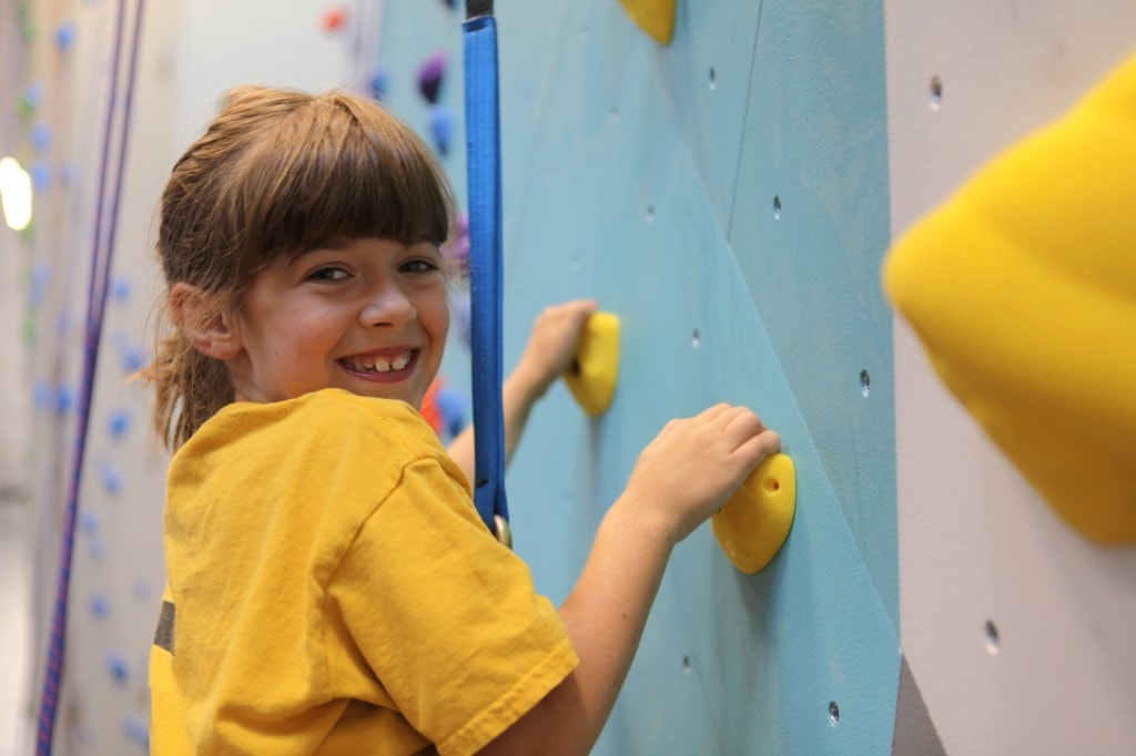 Salt Pump offers kids climbing classes