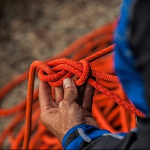 Learn to climb and tie knots at Salt Pump